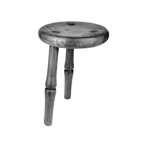three-legged-stool-bw